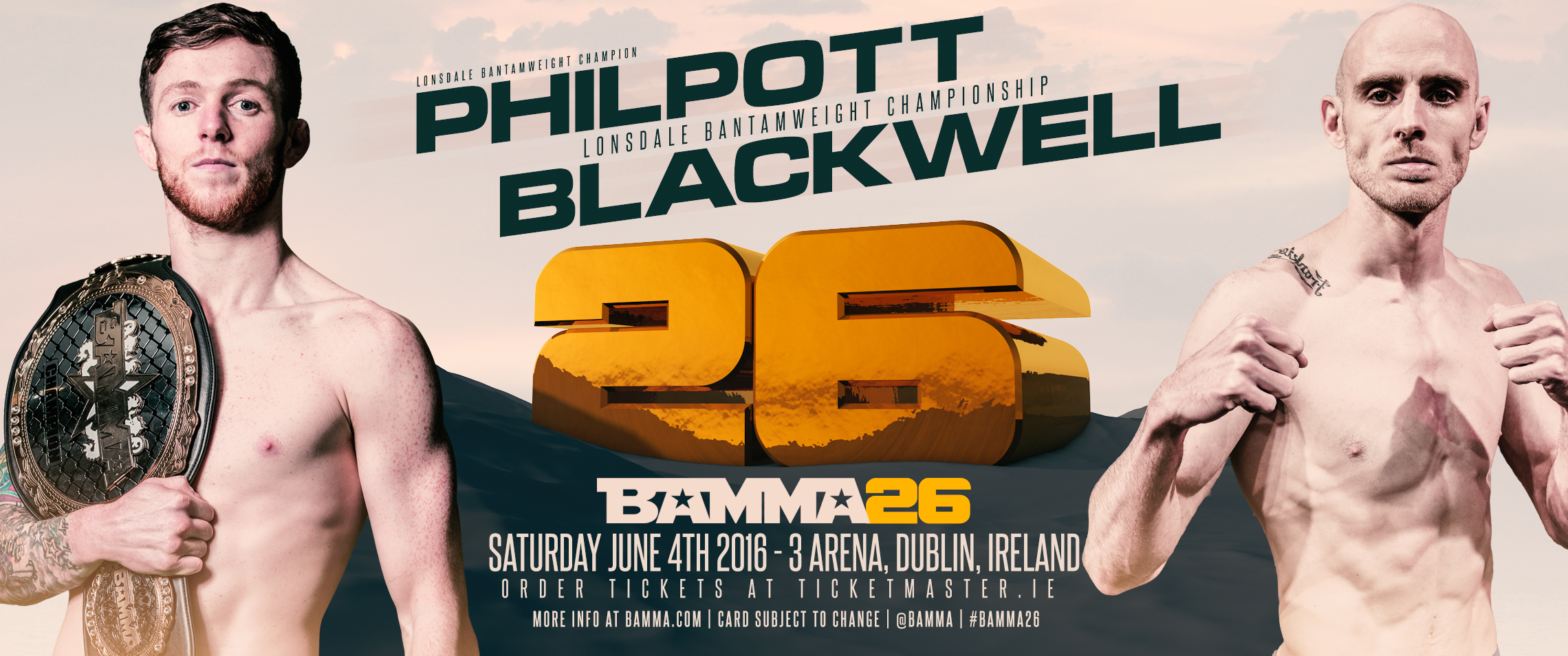 Philpott To Defend Lonsdale Title At BAMMA 26