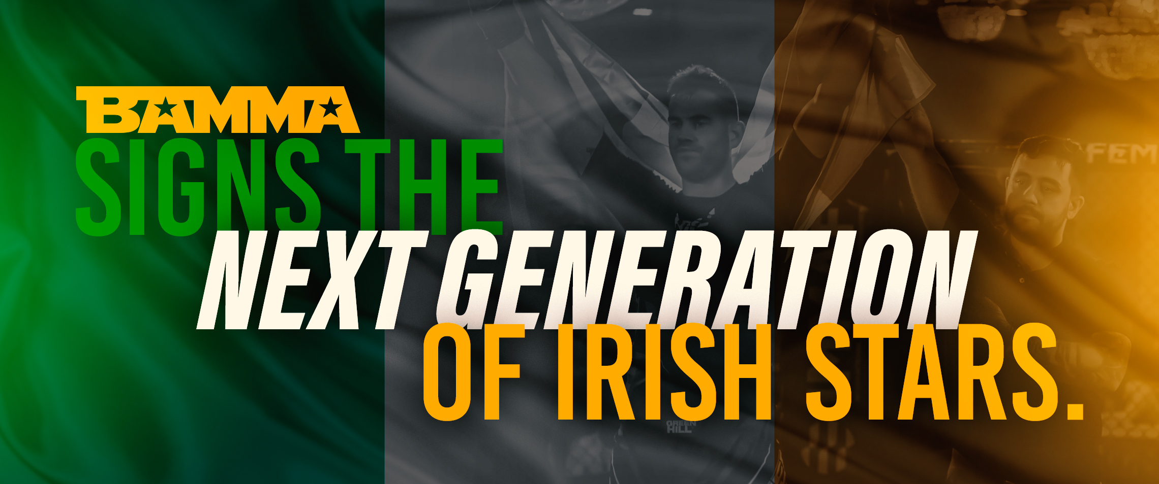 BAMMA Signs The Next Generation Of Irish Stars
