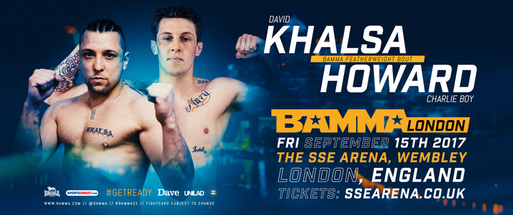 4 More bouts join the BAMMA London Fightcard