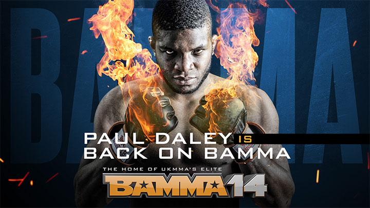 "BAMMA 14 - Paul ""Semtex"" Daley Returns"