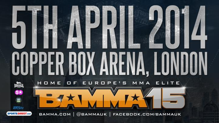 BAMMA 15 Official Results