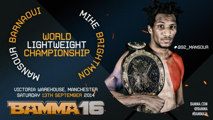 Mansour Barnaoui Returns to defend his title at BAMMA 16