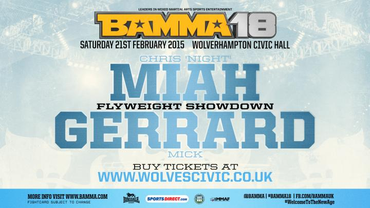Miah Signs, 3 more bouts set for the BAMMA 18 Prelims