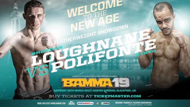 DeVent Vs Cooke, Loughnane Vs Polifonte for BAMMA 19 Prelims