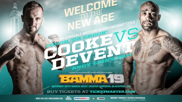 BAMMA Lonsdale British Middleweight Title Added to BAMMA 19