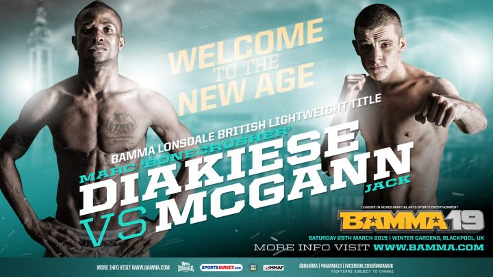BAMMA Lonsdale British Lightweight Title added to BAMMA 19