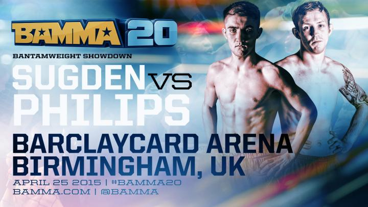 Regis Sugden set to face Ant Phillips at BAMMA 20