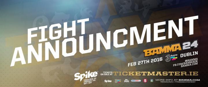 A Pair Of Bantamweight Bouts Announced For BAMMA 23