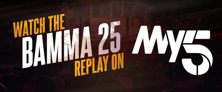 Watch BAMMA 25 on Spike TV UK Saturday!