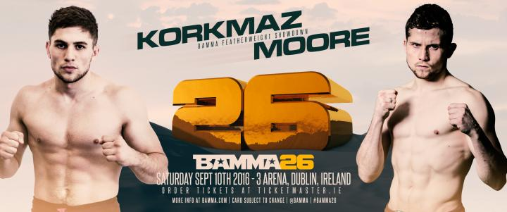 2 New Bouts Added To The BAMMA 26 Lineup