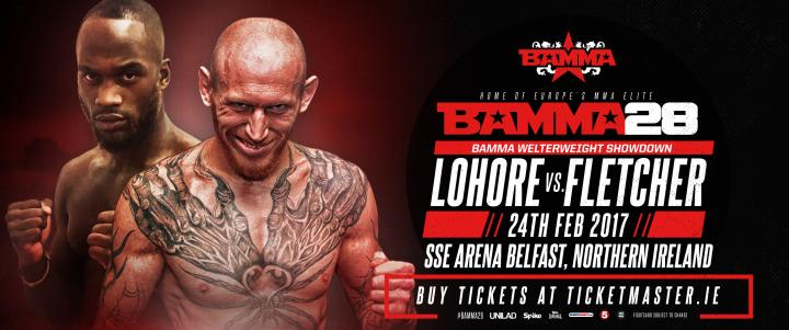 Freakshow Bound For BAMMA 28 Vs. Lohore