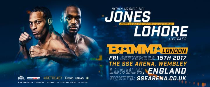 BAMMA London Main Event Changed