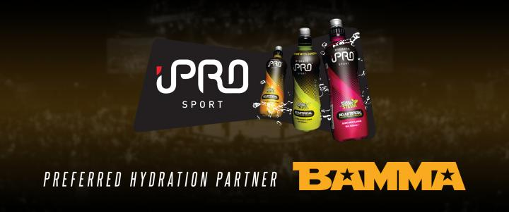 IPRO Sport To Hydrate BAMMA Athletes AT BAMMA Newcastle