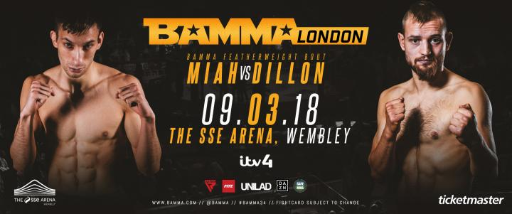 Chris Miah Vs. Dominic Dillon At BAMMA 34