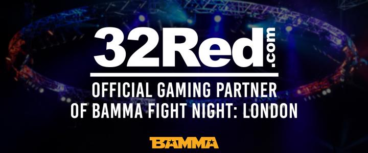 BAMMA Announce New Gaming Partnership With 32Red