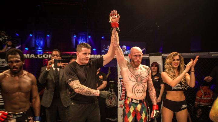 BAMMA 17 - OFFICIAL RESULTS