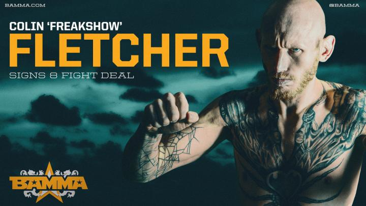 Freakshow Extends BAMMA Contract for 8 More Fights