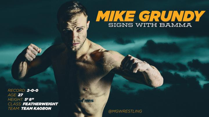 Austin, Grundy & Wood Sign with BAMMA
