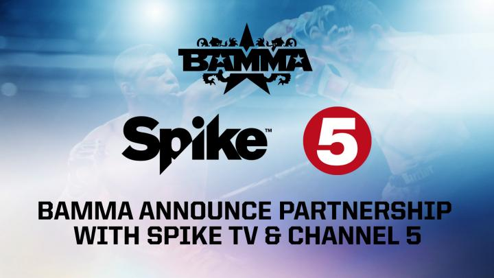 BAMMA SIGNS LONG-TERM DEAL WITH SPIKE TV
