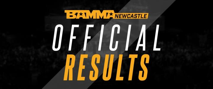 BAMMA 33: Scope Vs. Lebout Official Results