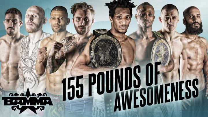 BAMMA's Stacked 155lb Division