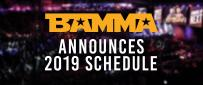 BAMMA Announces 2019 Schedule