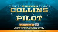 Jody Collins welcomes the undefeated Gaz Pilot at BAMMA 17
