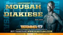 Diakiese Vs. Mousah added to the BAMMA 17 lineup