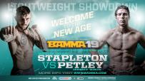 BAMMA 19 Main Event Petley Vs. Stapleton