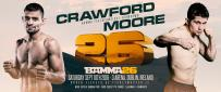 Moore Set To Face Crawford At BAMMA 26