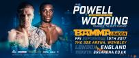 Dominique Wooding Vs Jamie Powell Added To BAMMA London