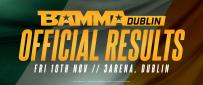 BAMMA Dublin Official Results