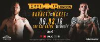 Tim Barnett Vs. Rhys McKee II Confirmed For BAMMA 34
